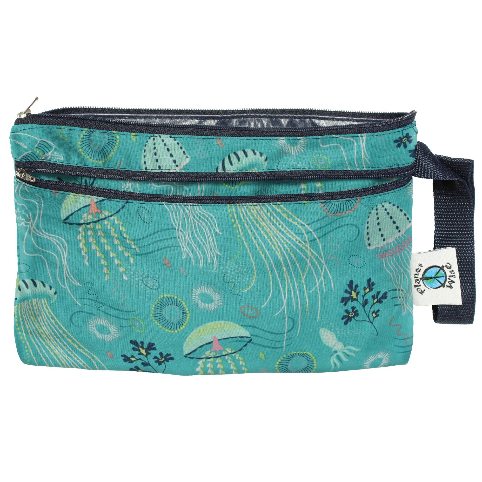 Planet Wise Clutch Wet/Dry Bag, Jelly Jubilee, Made in The USA by Planet Wise
