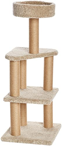 AmazonBasics-Large-Cat-Condo-Tree-Tower-with-Scratching-Post