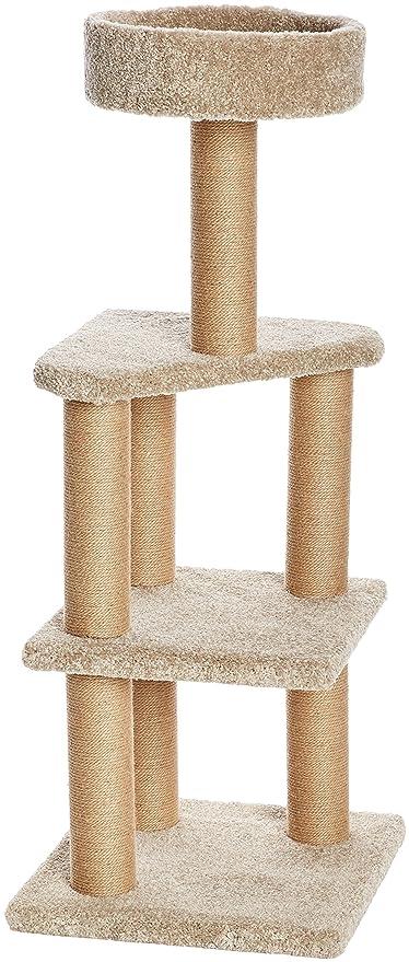 Amazonbasics Cat Tree With Scratching Posts Large Amazon Ca Pet