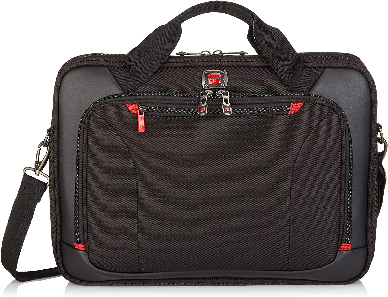 "Victorinox Highwire 17"" Deluxe Laptop Briefcase, Black, Inch"