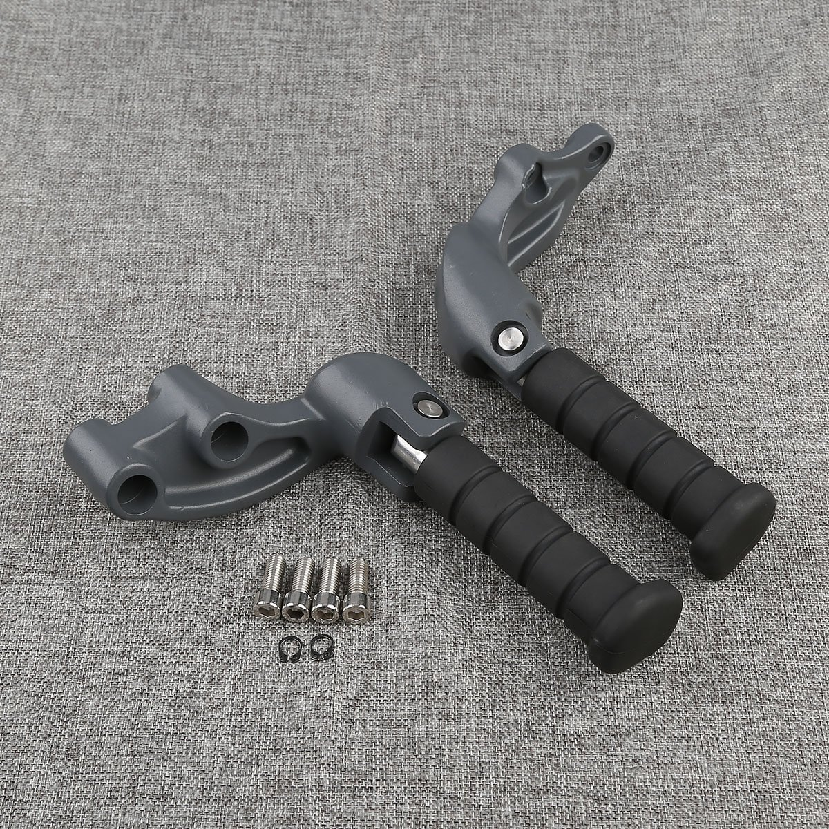 XMT-MOTO Passenger Foot Pegs W/Mounting Bracket For Indian scout 2015 2016 2017 2018,scout sixty 2016 2017 2018,scout bobber 2018