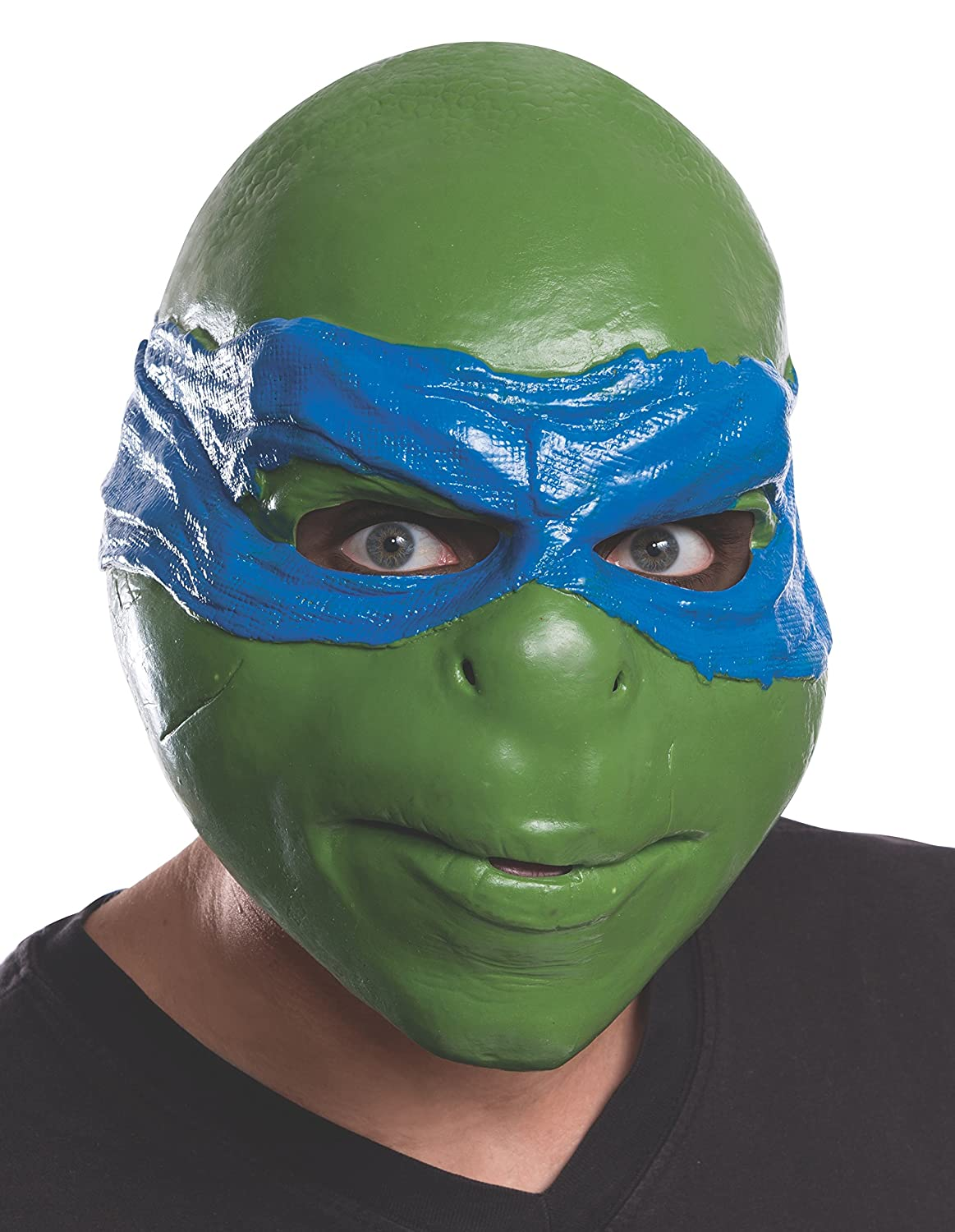Amazon.com Rubieu0027s Menu0027s Teenage Mutant Ninja Turtles Movie Leonardo Adult 3/4 Mask Multi One Size Clothing  sc 1 st  Amazon.com & Amazon.com: Rubieu0027s Menu0027s Teenage Mutant Ninja Turtles Movie ...