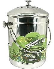 Eddingtons - Cubo de compost (4,4 l con filtro de carbón)