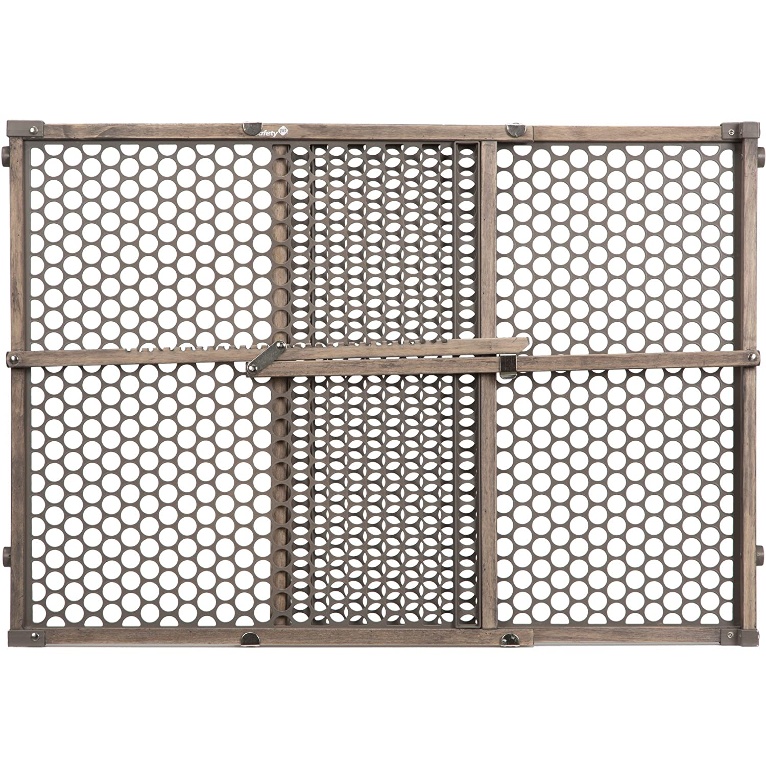 amazon com safety 1st vintage grey wood gate grey baby