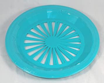 Plastic Paper Plate Holders Set of 4 (Blue Green) Amazon.co.uk Kitchen u0026 Home  sc 1 st  Amazon UK & Plastic Paper Plate Holders Set of 4 (Blue Green): Amazon.co.uk ...