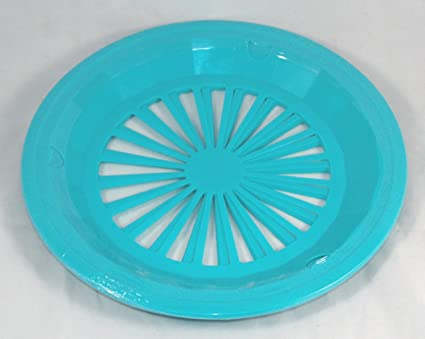 Plastic Paper Plate Holders Set of 4 (Blue Green)  sc 1 st  Amazon.com & Amazon.com | Plastic Paper Plate Holders Set of 4 (Blue Green ...