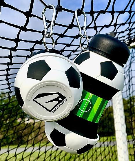 BRIILLIANCE - Bola plegable de baloncesto de béisbol, bola de ...