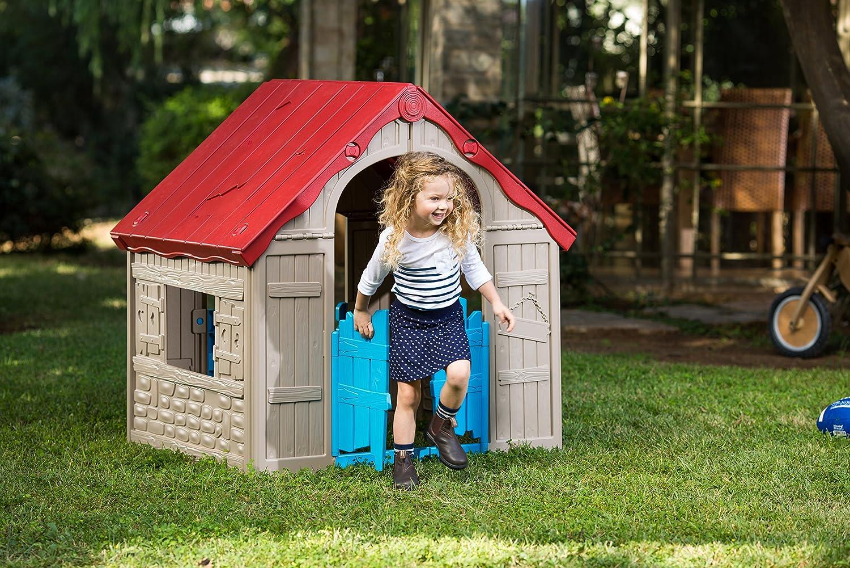 Keter - Casita infantil plegable, Edad recomendada: 4 - 7 años: Amazon.es: Juguetes y juegos