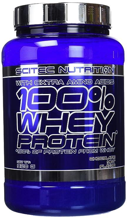 Scitec Nutrition Whey Protein proteína chocolate-menta 920 g