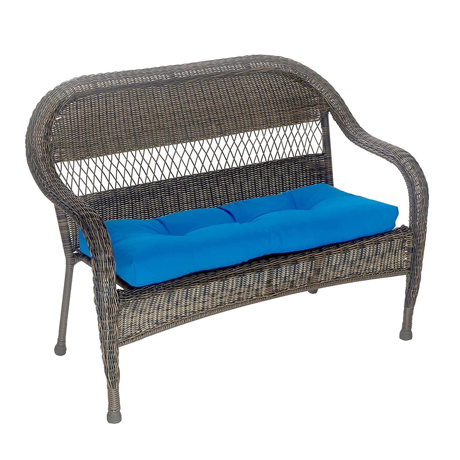 Amazon.com : Outdoor Patio Bench Cushion - Solid and Patterns - 43 x ...