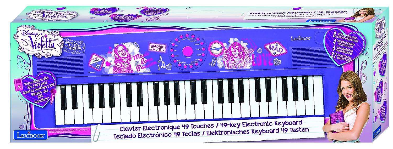 Lexibook - K710DO-Clavier Électronique avec Micro Dory