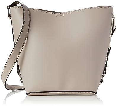 0e28373f8cdf New Look Womens Bethan Sleek Top-Handle Bag Off-White (Stone)