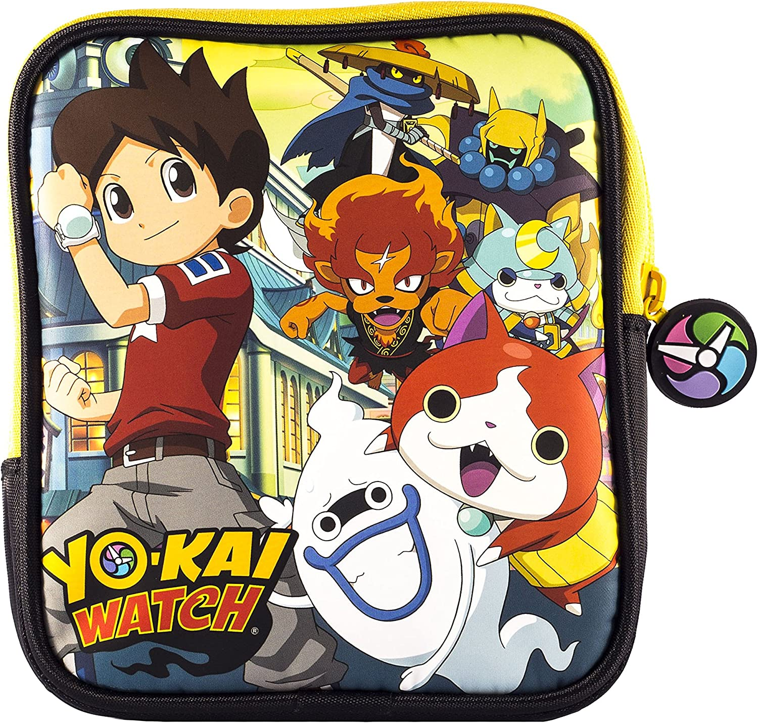 Indeca- Bolsa funda de transporte para Nintendo 2DS de Yokai Watch: Amazon.es: Videojuegos