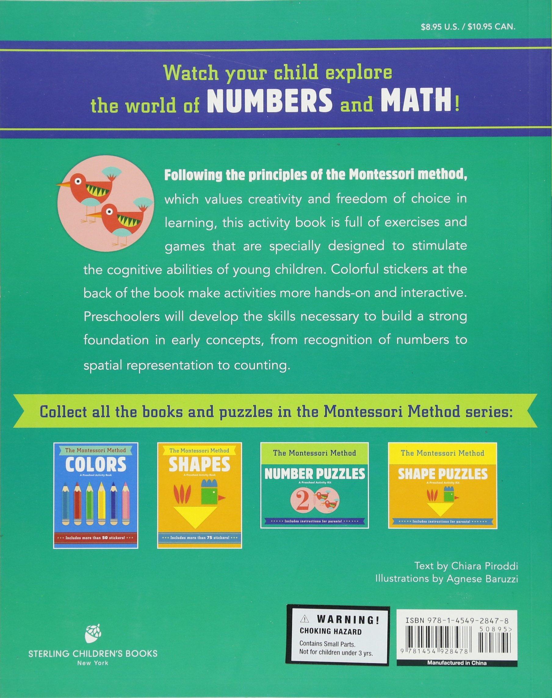 Numbers (The Montessori Method): Chiara Piroddi, Agnese Baruzzi ...