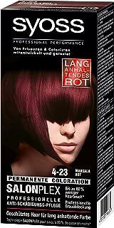 Rote haarfarbe die lange halt