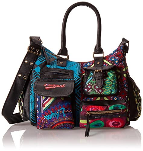 Tracolla Desigual Medium London Donna Estambul A Borsa Bols YTzYwqv