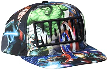 Avengers-2200002043 Gorra premium New Era, 58 cm, color multicolor ...