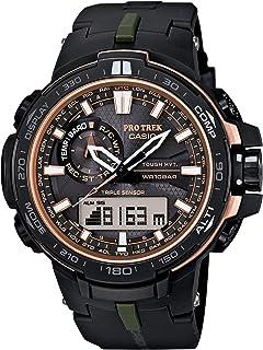 39c0c7ee2f Amazon | [カシオ]CASIO 腕時計 PROTREK KARAKORUM BLACK SERIES ...