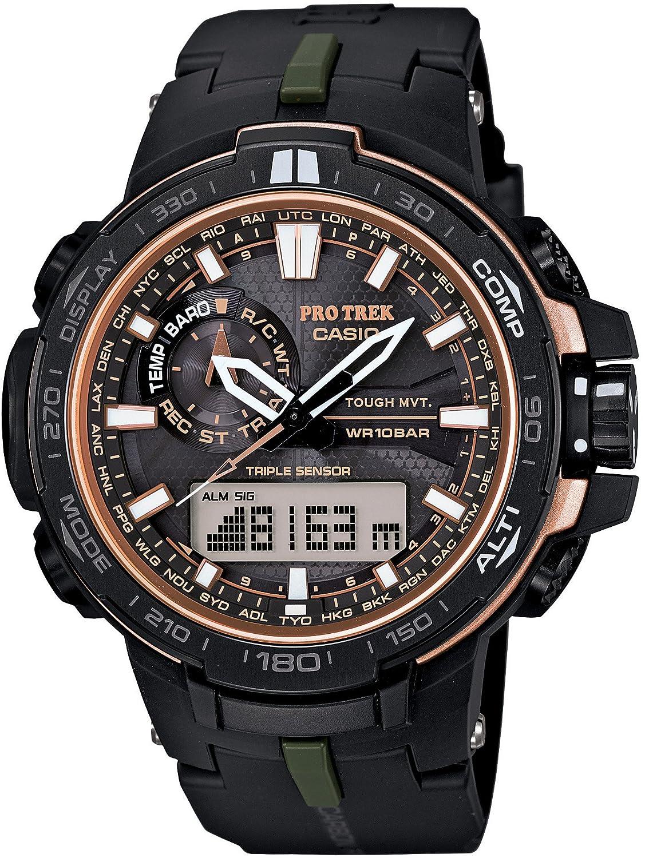 CASIO PROTREK PRW-S6000Y-1JF Ver.3 Triple Sensor Smart Access Multi-Band Timekeeping Watch