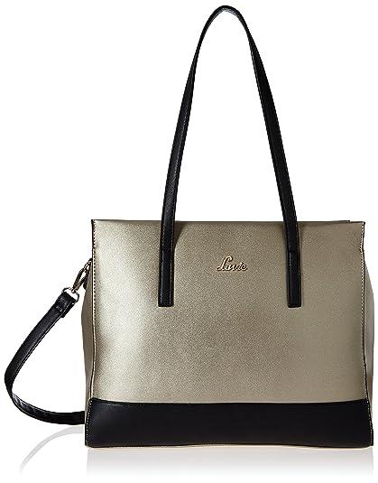 2f61b83d67 Lavie Linden Women s Handbag (Gold)  Amazon.in  Shoes   Handbags