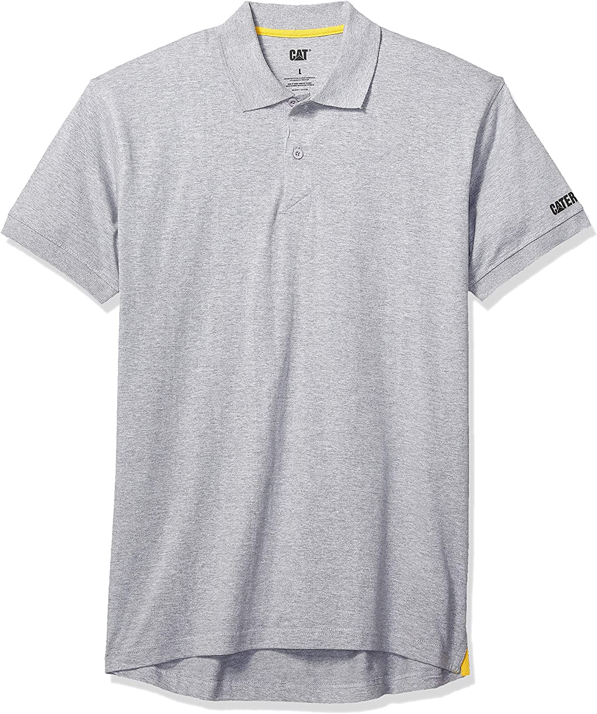 Caterpillar Cat® apparel Classic Mens Polo Shirt 100/% Cotton Casual Sport Work