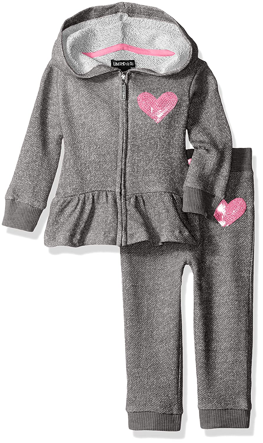 Amazon.com: Limited Too Baby Girls 2 Piece Youve Got Heart French Terry Set: Clothing