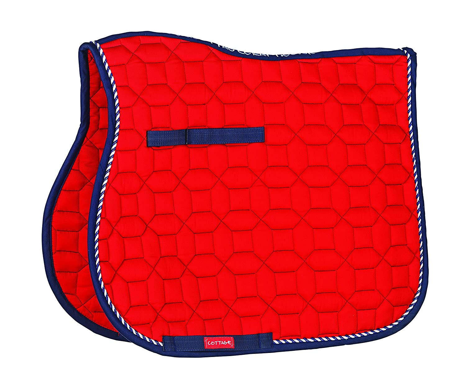 Cottage Craft Electra Pattern Quilted Saddle Cloth