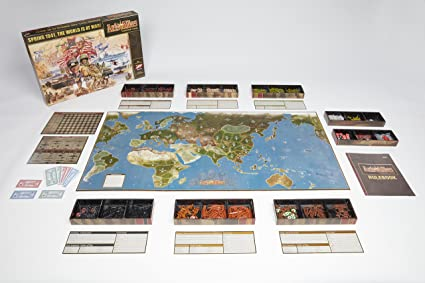 Avalon Hill Board Game Axis & Allies Anniversary Edition english Wizards Coast: Amazon.es: Juguetes y juegos
