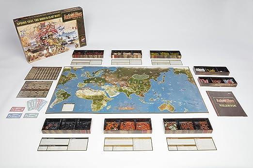 Avalon Hill Board Game Axis & Allies Anniversary Edition english Wizards Coast: Amazon.es: Juguetes y juegos