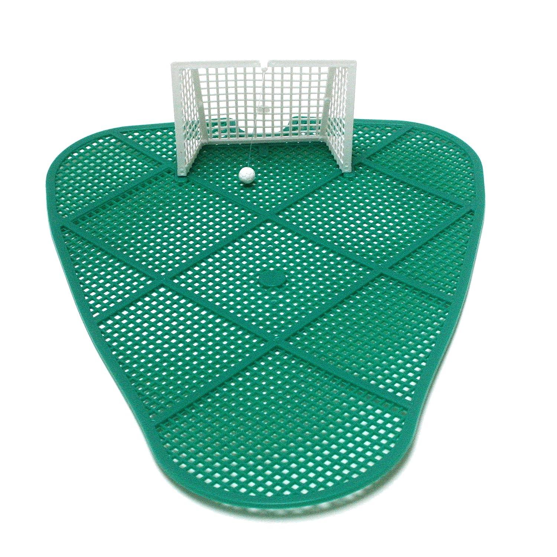 Mape 2/x Piss-Goal Urinoir Tapis de Football Soccer Goal Fun 23,5/cm x 31/cm Vert avec Objectif