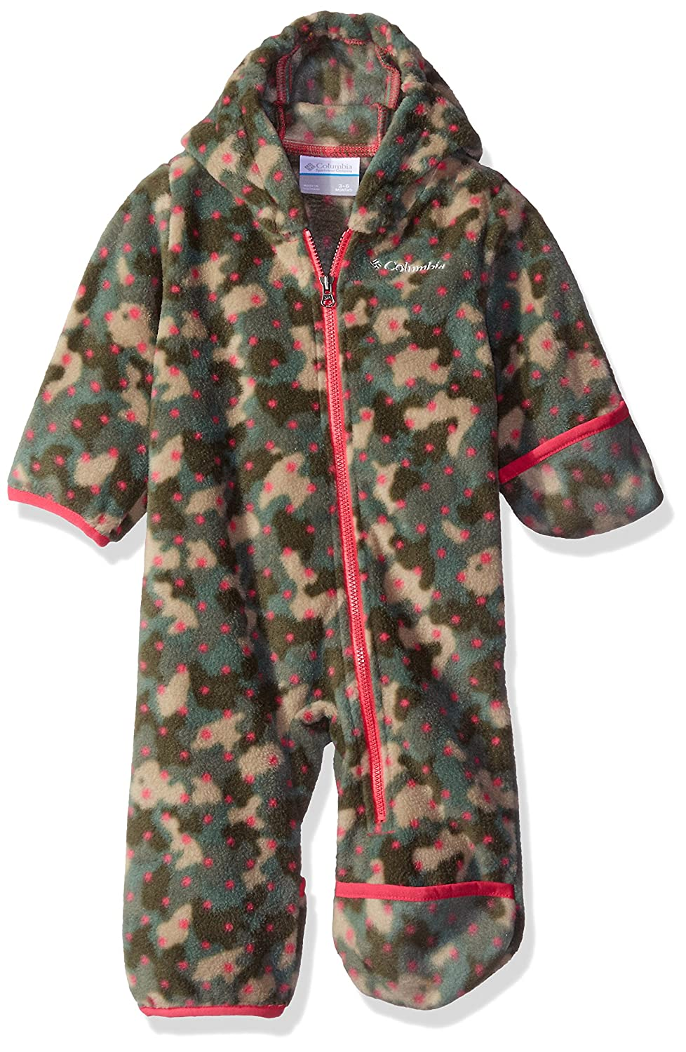 Columbia Baby Girls' Snowtop II Bunting, Punch Pink Camo, 18-24 Months 1523731638