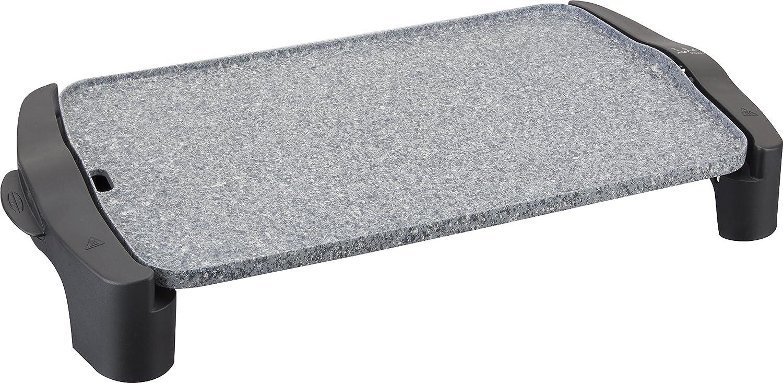 Jata GR558 Plancha de Asar Muy Resistente al Rayado y Antiadherente Libre de PFOA Medidas 46 x 28 cm 2500 W Fabricada en España