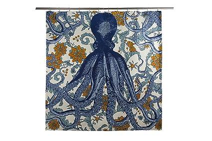 Thomaspaul Octopus Vyard Shower Curtain