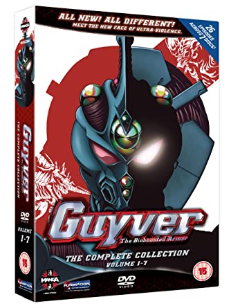 Image result for Bioboosted armor guyver DVD