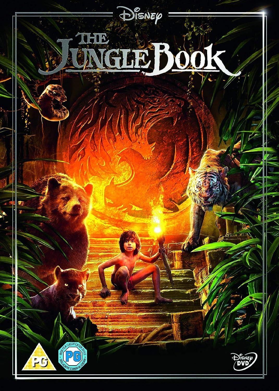 Amazon Com The Jungle Book Dvd 2016 Movies Tv