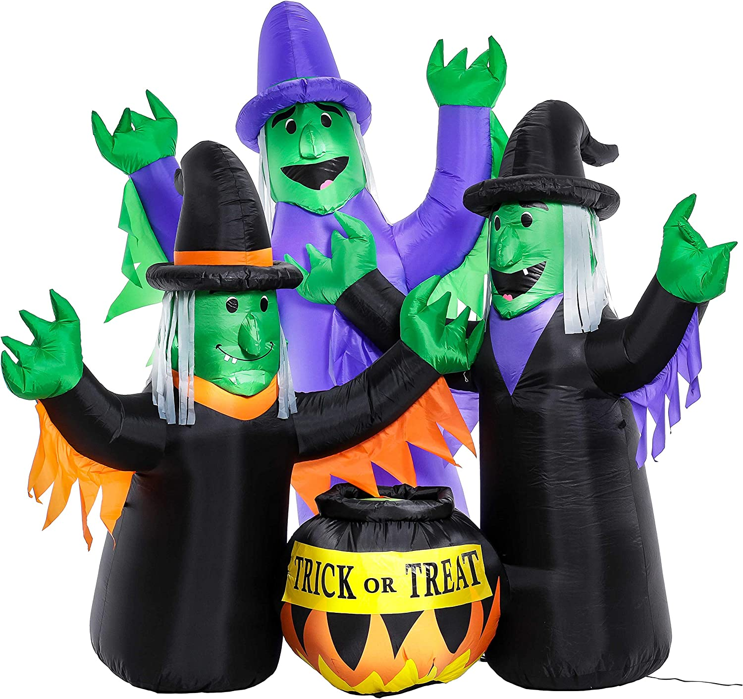 Amazon.com: Halloween Haunters 6 pies inflable dos brujas ...