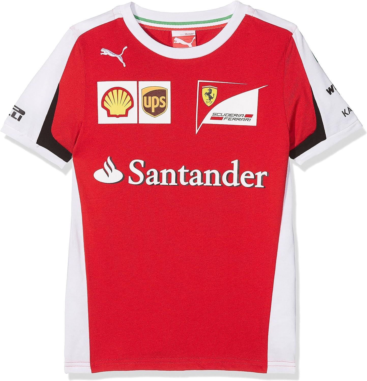 FERRARI F1 T-shirt-82644602 Camiseta, Red (76166901), 116: Amazon.es: Deportes y aire libre
