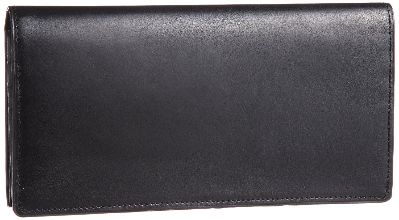 [コクホー] KOKUHO 日本製 最高級革ピットヌメ使用 三つ折り長財布 B002TPZ108  ブラック