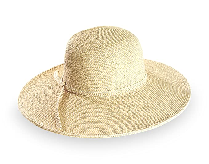 dae2e899 Amazon.com: Sunday Afternoons Women's Riviera Hat, Cream, One Size ...