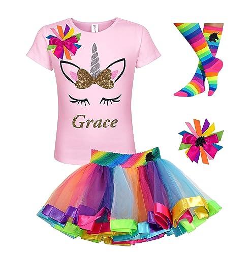 Unicorn Birthday Outfit Set unicorn Outfit Unix Birthday Shirt /& Pants