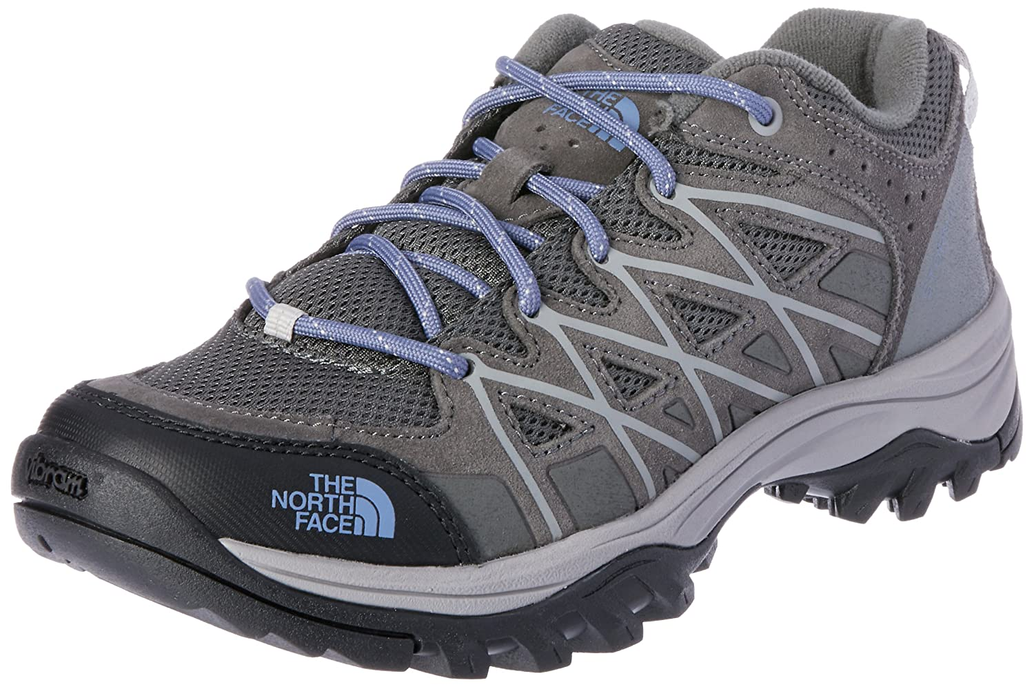 The North Face Womens Storm III B01HHAHW2O 7.5|Dark Gull Grey & Marlin Blue