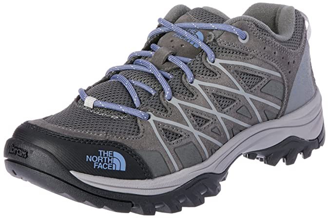 The North Face Storm III Hiking Shoe - Women's Dark Gull Grey/Marlin Blue 8.5 best women's hiking shoes
