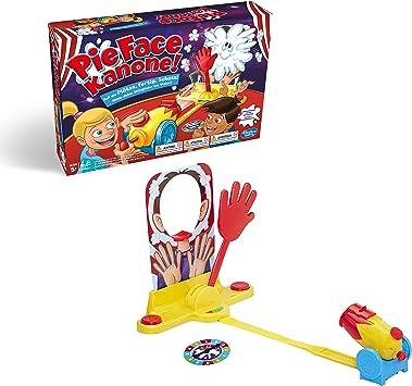 Hasbro Gaming- Pie Face - Cañón para fiestas (E1972100): Amazon.es: Juguetes y juegos