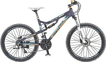 Rex MTB Bergsteiger 3.2 - Bicicleta de montaña, Talla M (165-172 cm), Color Negro: Amazon.es: Deportes y aire libre