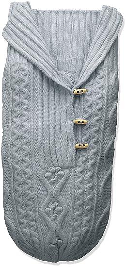 Amazon.com  Toby   Company Baby Nygb Cable Knit Button Down Snuggle Sack da9f2b97e555