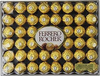 Ferrero Rocher 21.2-Oz. Hazelnut Chocolates (48-Count)