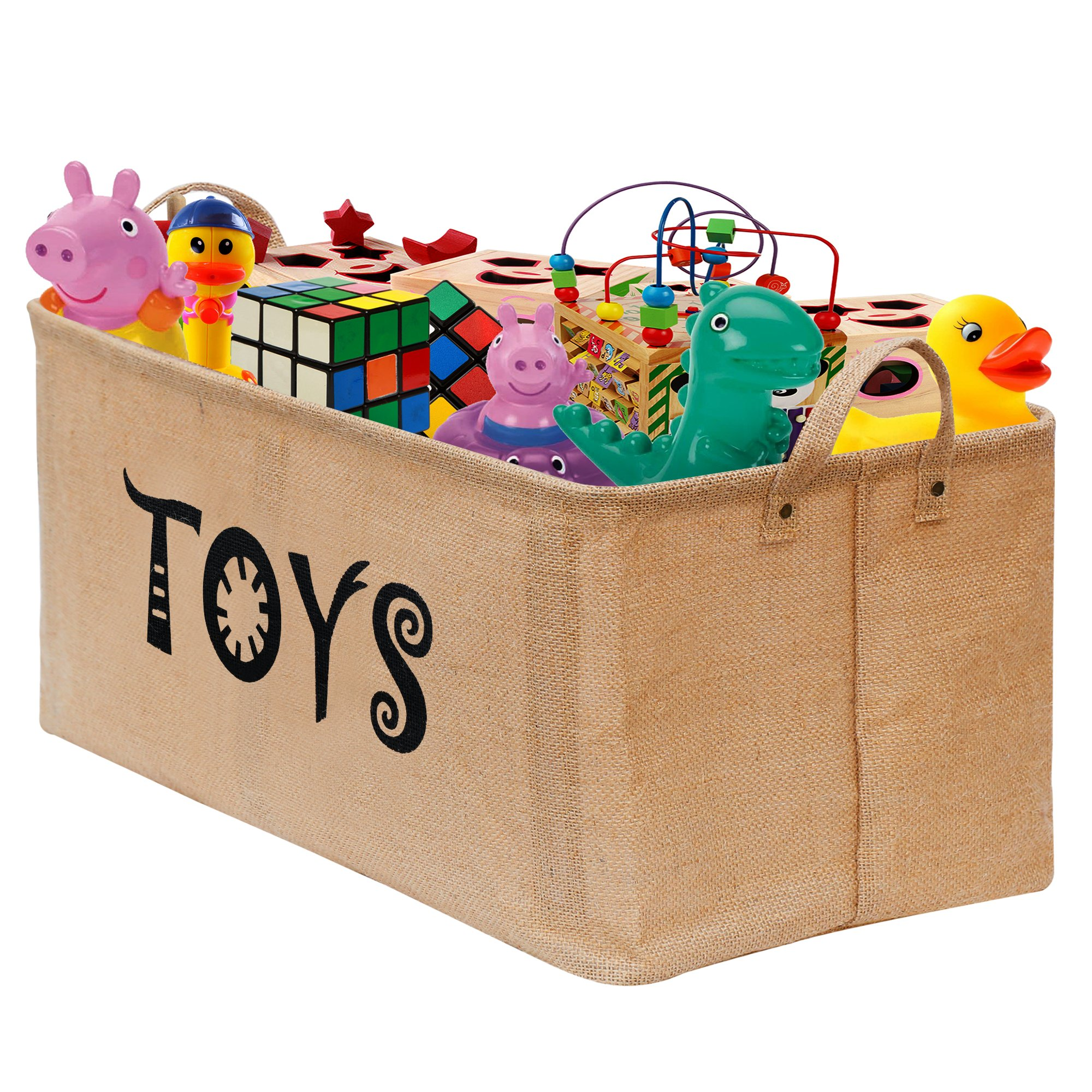 Soft White Kids Toy Chest Wood Box Bin Storage Organizer: Amazon.com : Prince Lionheart Jumbo Toy Hammock : Nursery