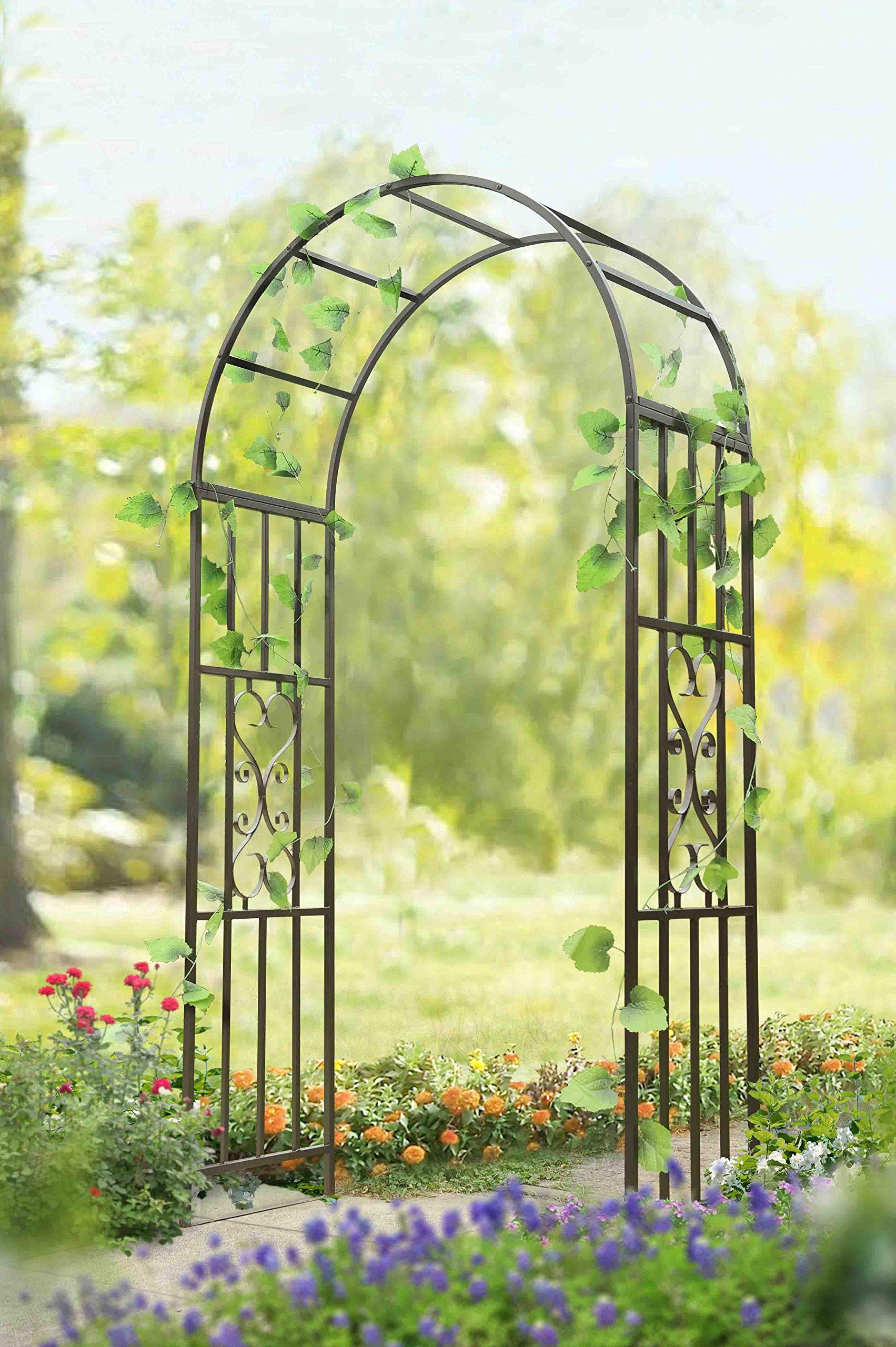 Sunjoy Garden Steel Frame Arbor
