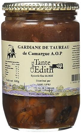 43f7cbb6c57 CHEZ TANTE EDITH Gardiane de Taureau 600 g - Lot de 2  Amazon.fr ...