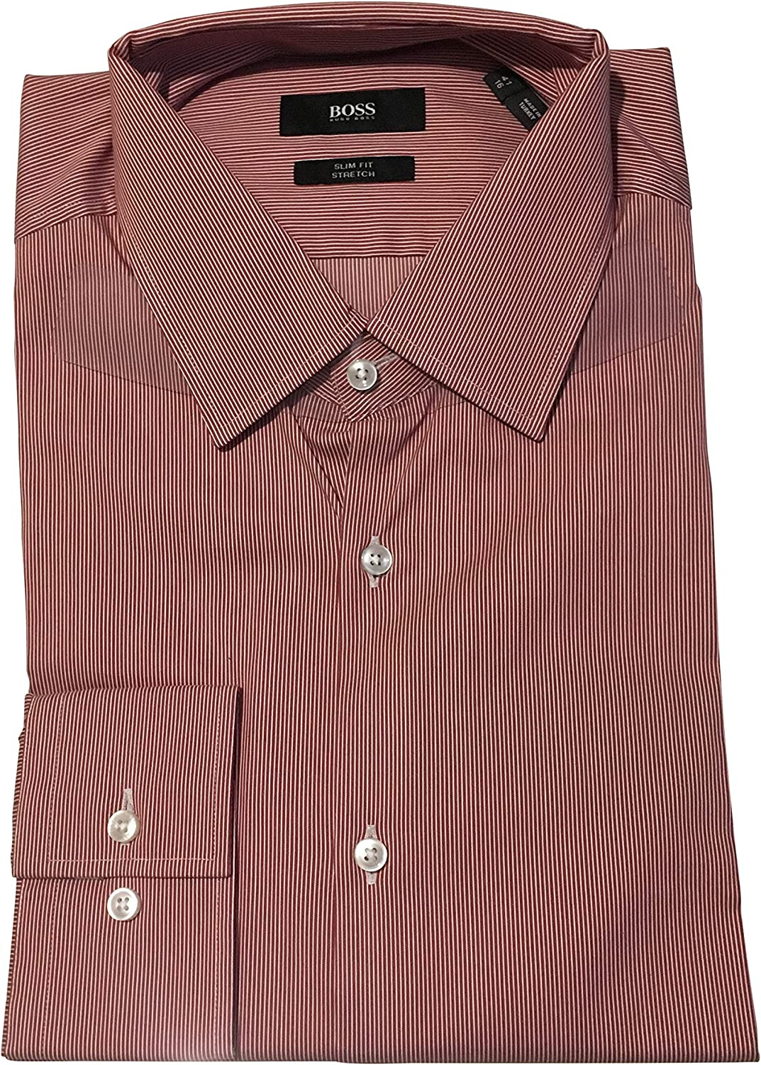 Hugo Boss Venzo 50405124 Mens Pin Stripe Formal Shirts